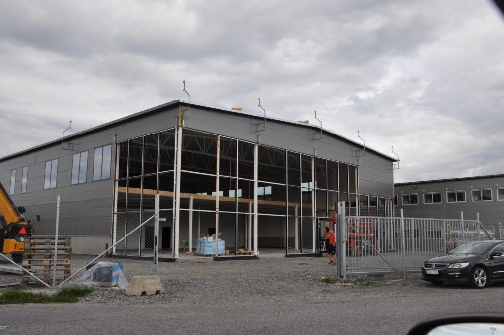 ny byggnad