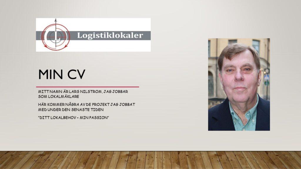 Lars Nilstrom CV